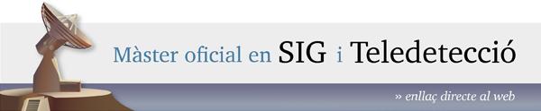 Màster Oficial en Teledetecció i SIG