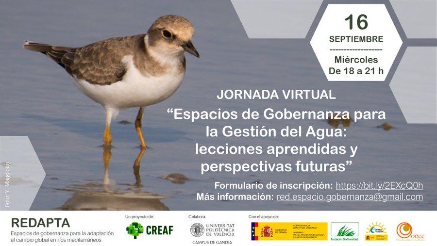 Jornada virtual, Espacios de Gobernanza para la gestión del agua lecciones aprendidas y perspectivas futuras