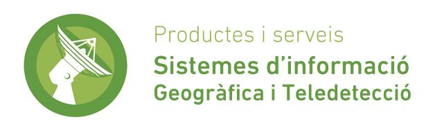 Productes i serveis de Sistemes d'Informació Geogràfica i Teledetecció
