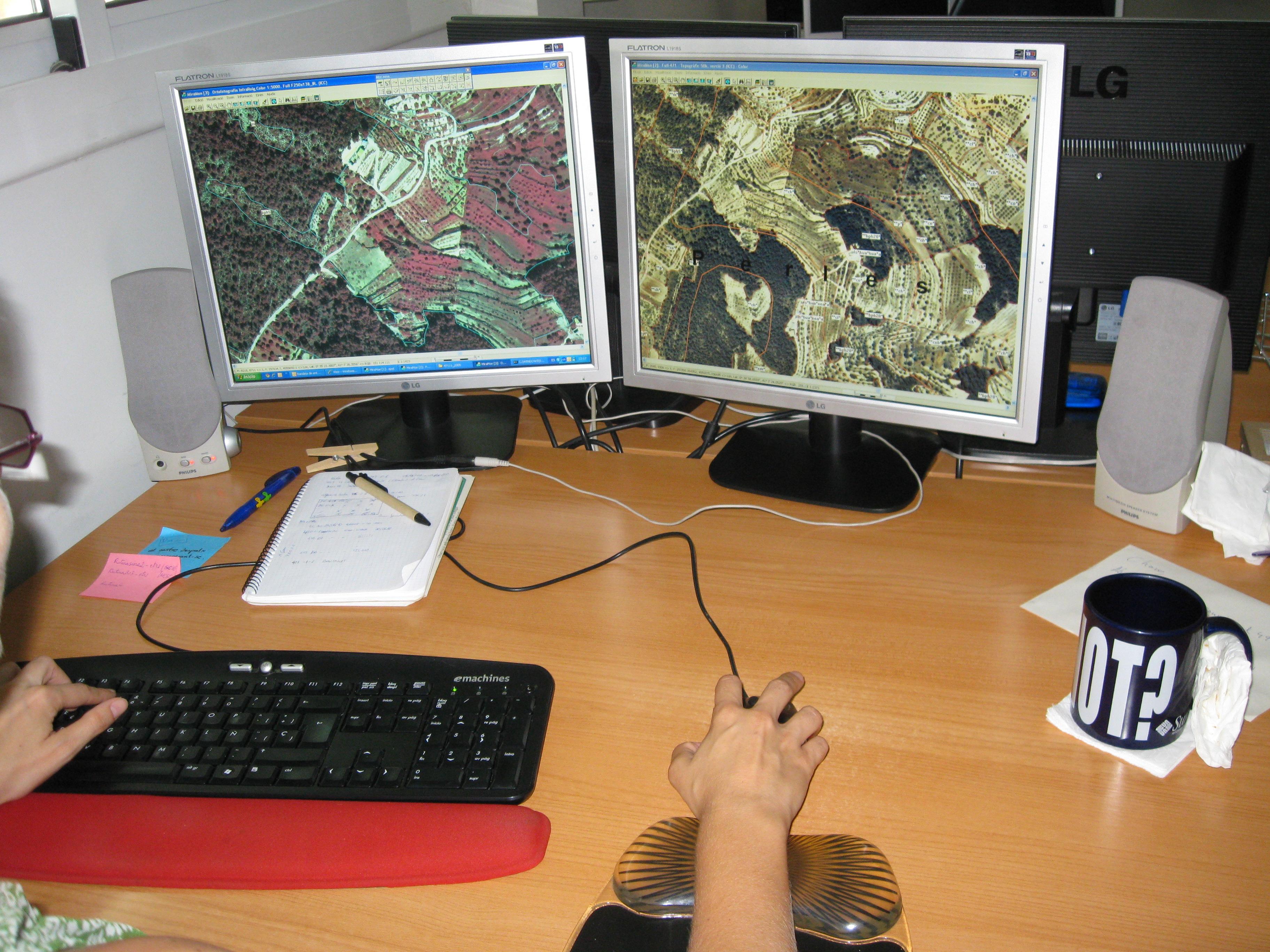 SIOSE Sistema d'informació de l'ocupació del sòl d'Espanya