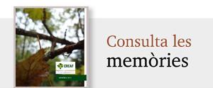 Memòries del CREAF