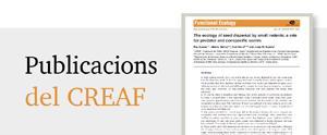 Publicacions del CREAF