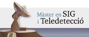 Màster Universitari en Teledetecció i SIG