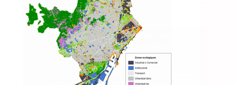 mapa ecologic de barcelona